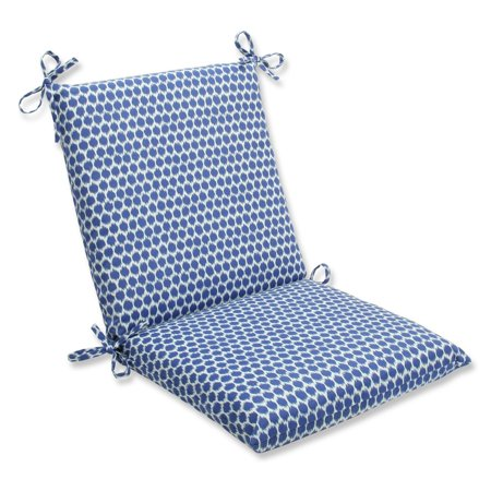 36 5 ruche d 39 abeille royal blue and white outdoor patio chair cushion. Black Bedroom Furniture Sets. Home Design Ideas