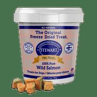 Stewart Pro-Treat Freeze Dried Wild Salmon 2.75 oz. Tub