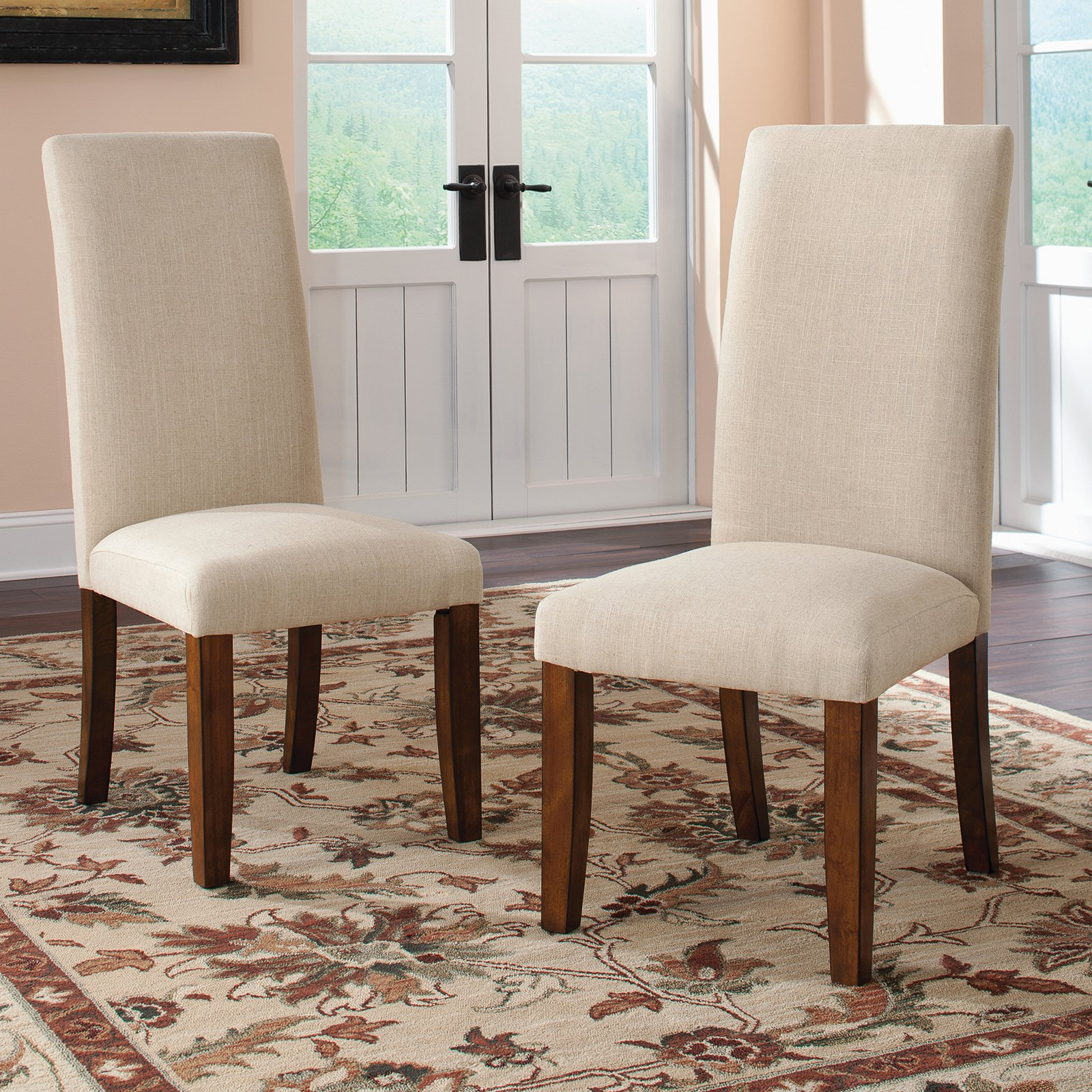 Dining Chairs in Medium Wood Finish Set of 2 by Studio RTA