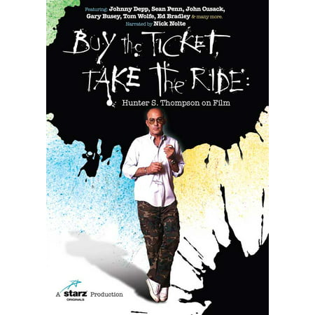Buy the Ticket, Take the Ride: Hunter S. Thompson on Film (2006) 11x17 Movie