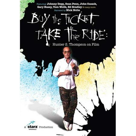 Buy the Ticket, Take the Ride: Hunter S. Thompson on Film (2006) 11x17 Movie Poster (Buy Tickets Disneyland Halloween)