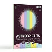 Astrobrights Color Cardstock, Pastel 5-Color Assortment, 50 Sheets