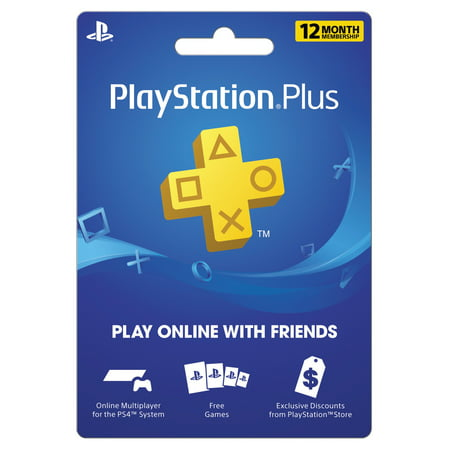Carte Psn Black Friday.Sony Playstation Plus 12 Month Subscription Digital Download