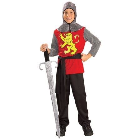 Kids Medieval Knight Costume (Medieval Costumes For Children)