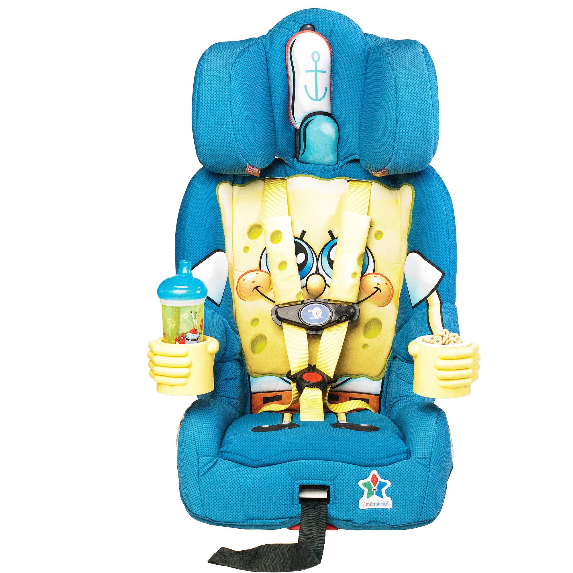 KIDSEmbrace - Booster Car Seat, SpongeBob SquarePants