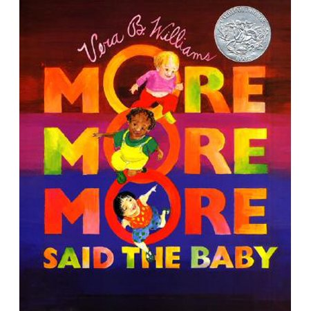 More More More Said the Baby 3 Love stor (Board Book) - Baby Stork