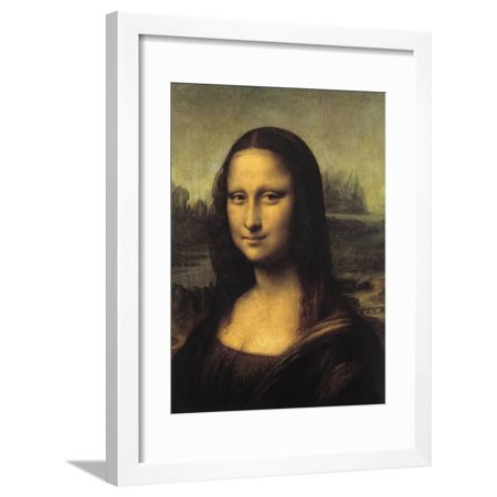 Mona Lisa Framed Print Wall Art By Leonardo da Vinci