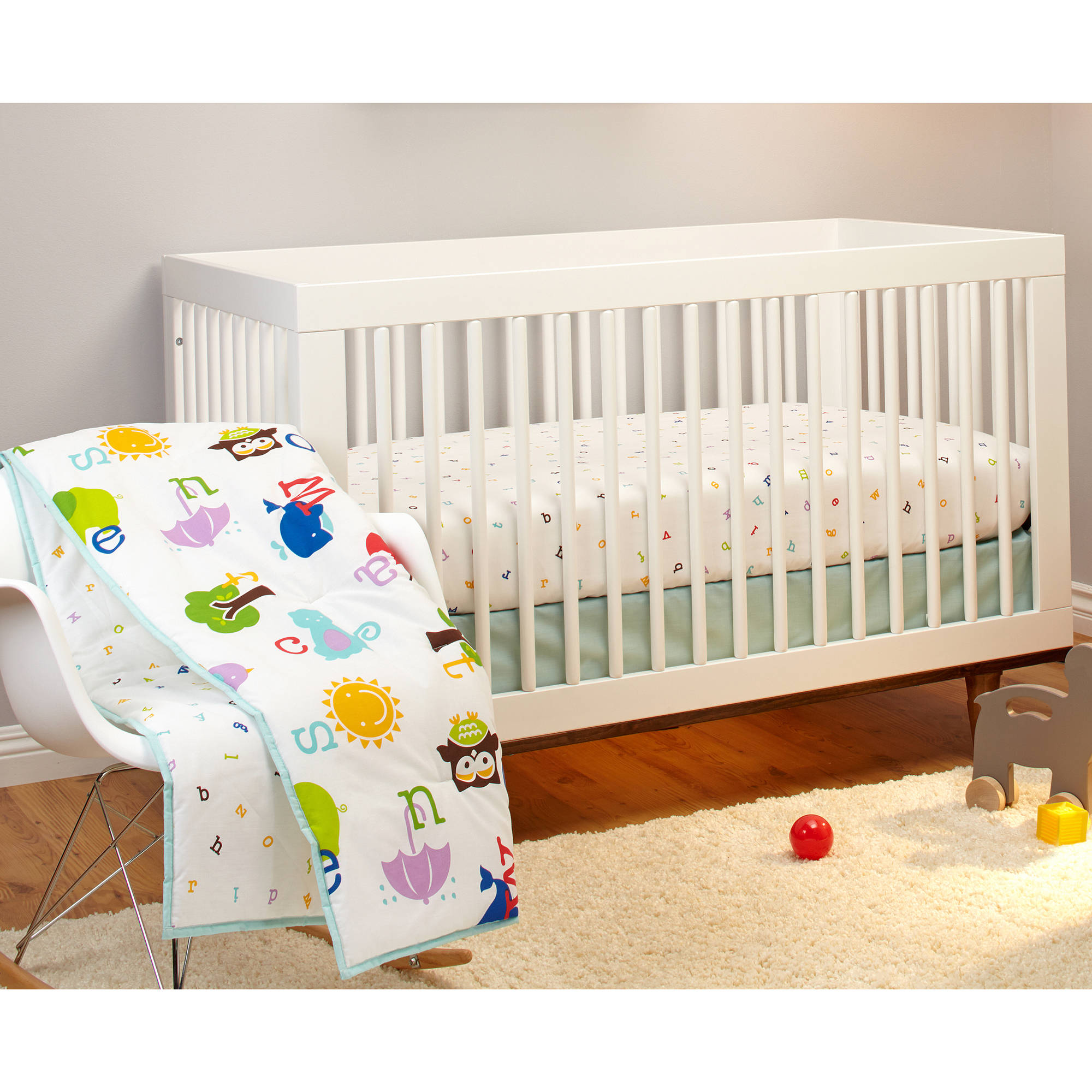 Little Bedding by Nojo Alphabet Play Crib Bedding Set