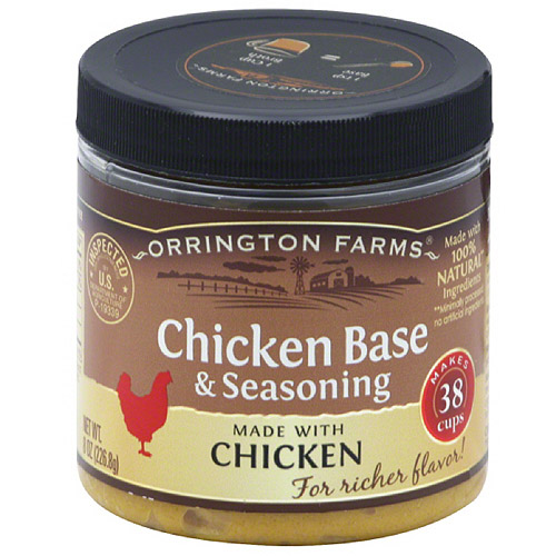 Paste Chkn Base & Ssnng, 8 Oz (pack Of 6