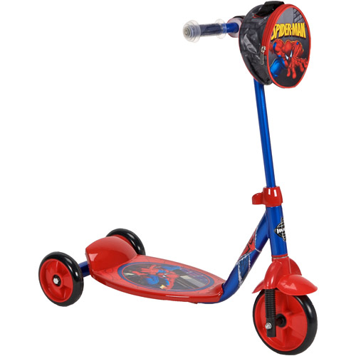 Huffy Marvel Spider-Man Boys' 3-Wheel Preschool Scooter