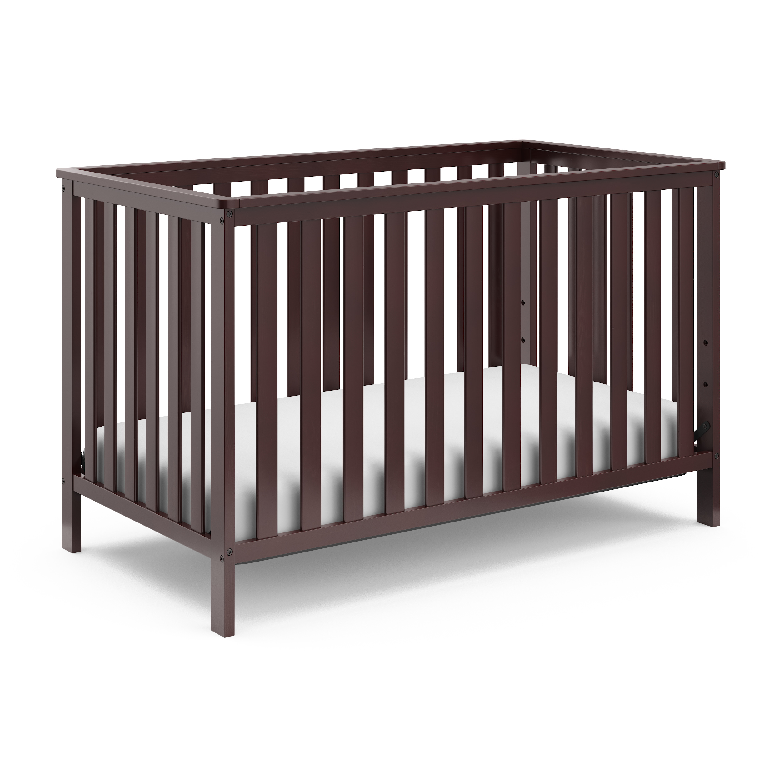 Storkcraft Rosland 3 in 1 Convertible Crib Espresso