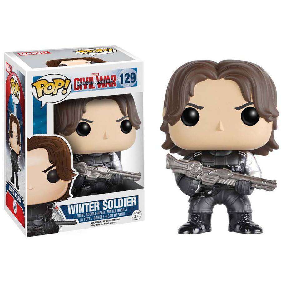 Funko Pop! Marvel: Captain America: Civil War, Winter Soldier