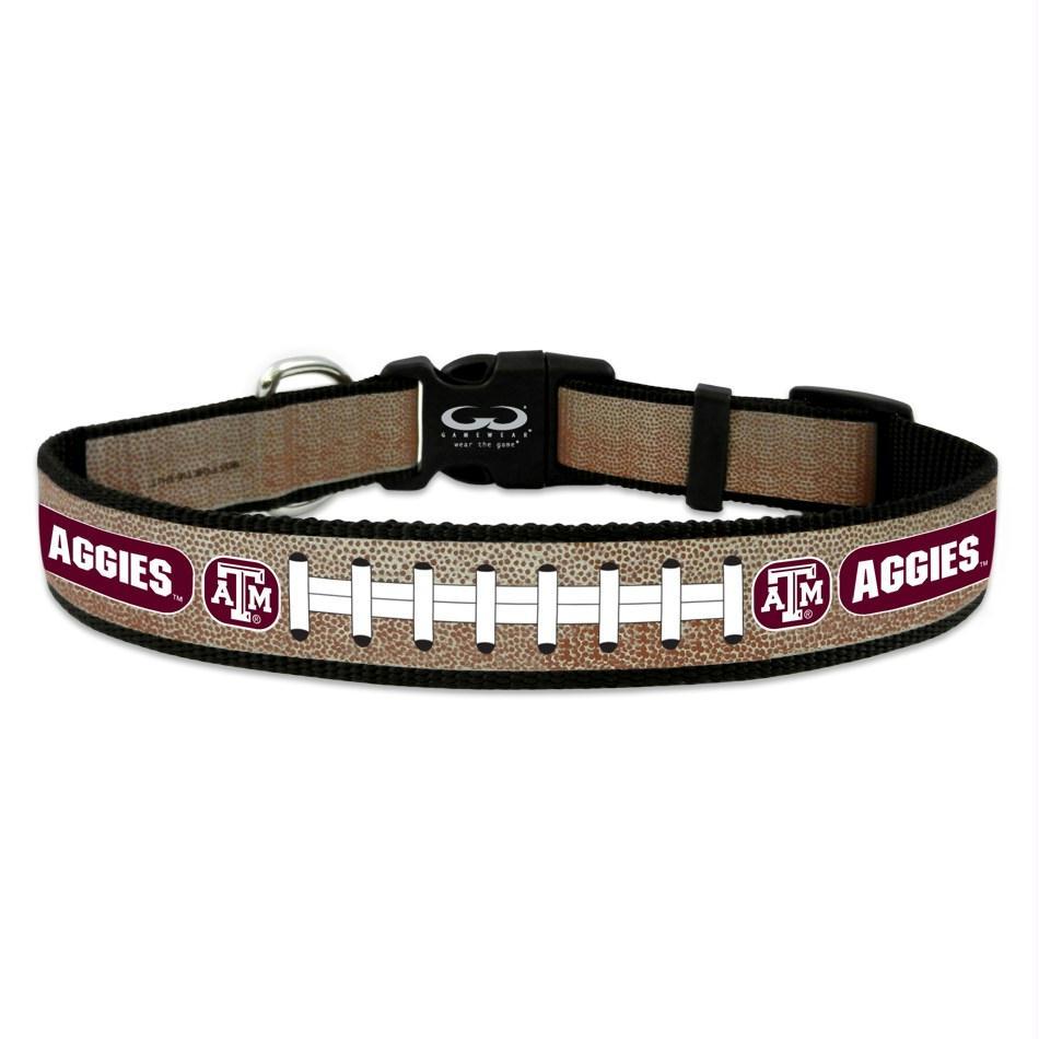 Texas A&M Aggies Reflective Football Pet Collar - Toy
