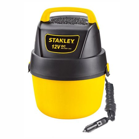 Stanley, SL18125DC, 1 gallon 12V DC Portable Poly Wet Dry (Kubota Wet Dry Vac 12 Gallon Review)