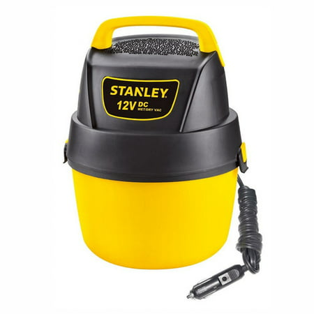 Stanley, SL18125DC, 1 gallon 12V DC Portable Poly Wet Dry - Dry Portable Shop
