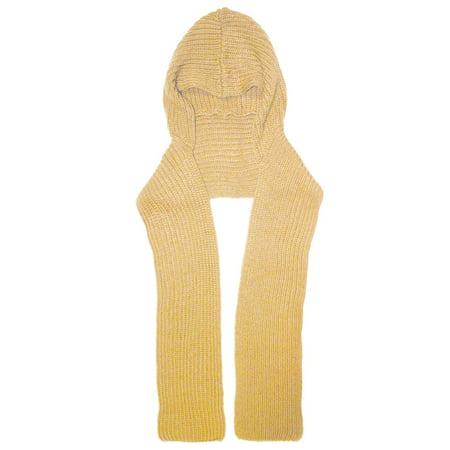 Scarf Khaki - City Hunter H310 6 Ways to wear Hood Scarf Version 2 (Khaki)