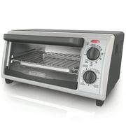 Black & Decker Stainless Steel 4 Slice Toaster Oven