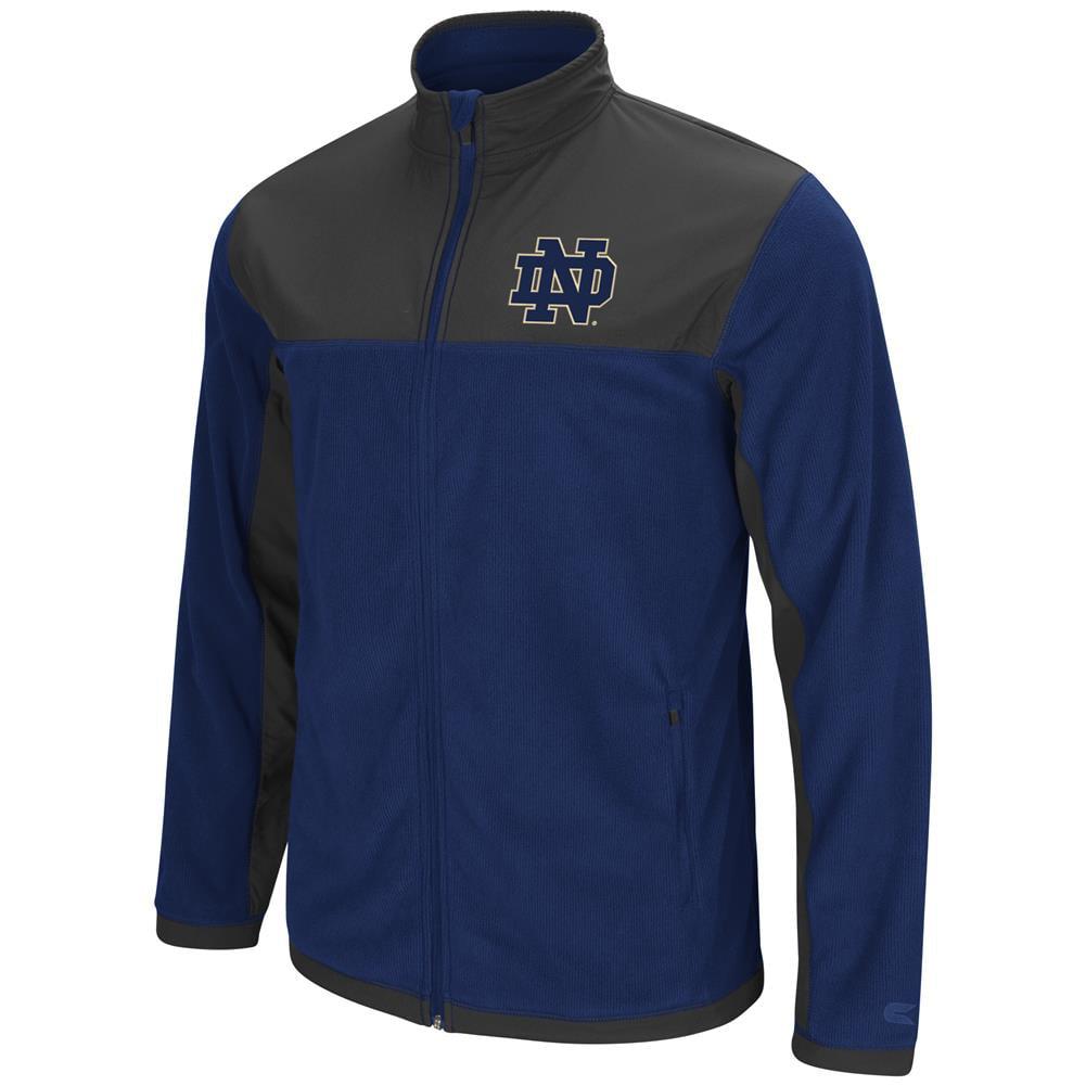 Notre Dame Fighting Irish Men's Full Zip Fleece Jacket by Colosseum