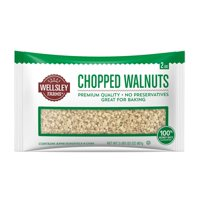 Product of Wellsley Farms Chopped Walnuts, 32 oz.