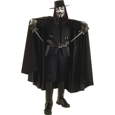 Rubie's Costume Co Dlx. V For Vendetta Cape Costume - V For Vendetta Cape