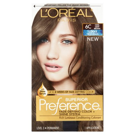 L'Oreal Paris Superior Preference Cools Anti-Brass Hair Color Kit ...