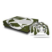 Distressed Army Star - Decal Style Skin Set fits XBOX One S Console and 2 Controllers (XBOX SYSTEM SOLD SEPARATELY)