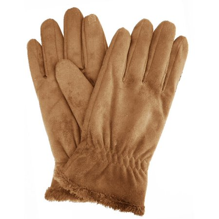 Isotoner Women's Faux Suede SmarTouch Gloves