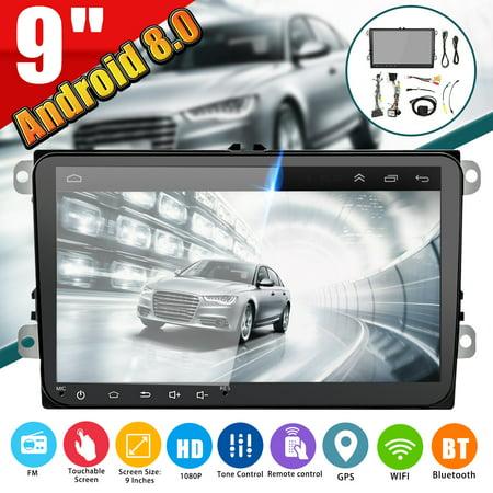 Golf Cart Replica - 9'' Inch 2 DIN HD 16G MP5 Player Car Radio GPS Stereo Touch Screen In-Dash For VW Golf Polo Skoda