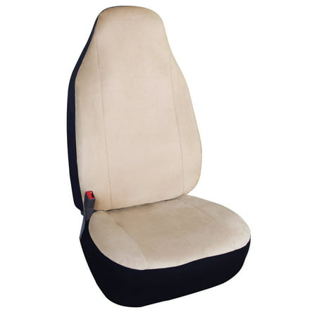 Leader Accessories Super Soft Auto Front Bucket Car Seat Covers for SUV Truck Universal Fit Seat Protector with Airbag Refresh your aged seats or Protect your seats against spills,