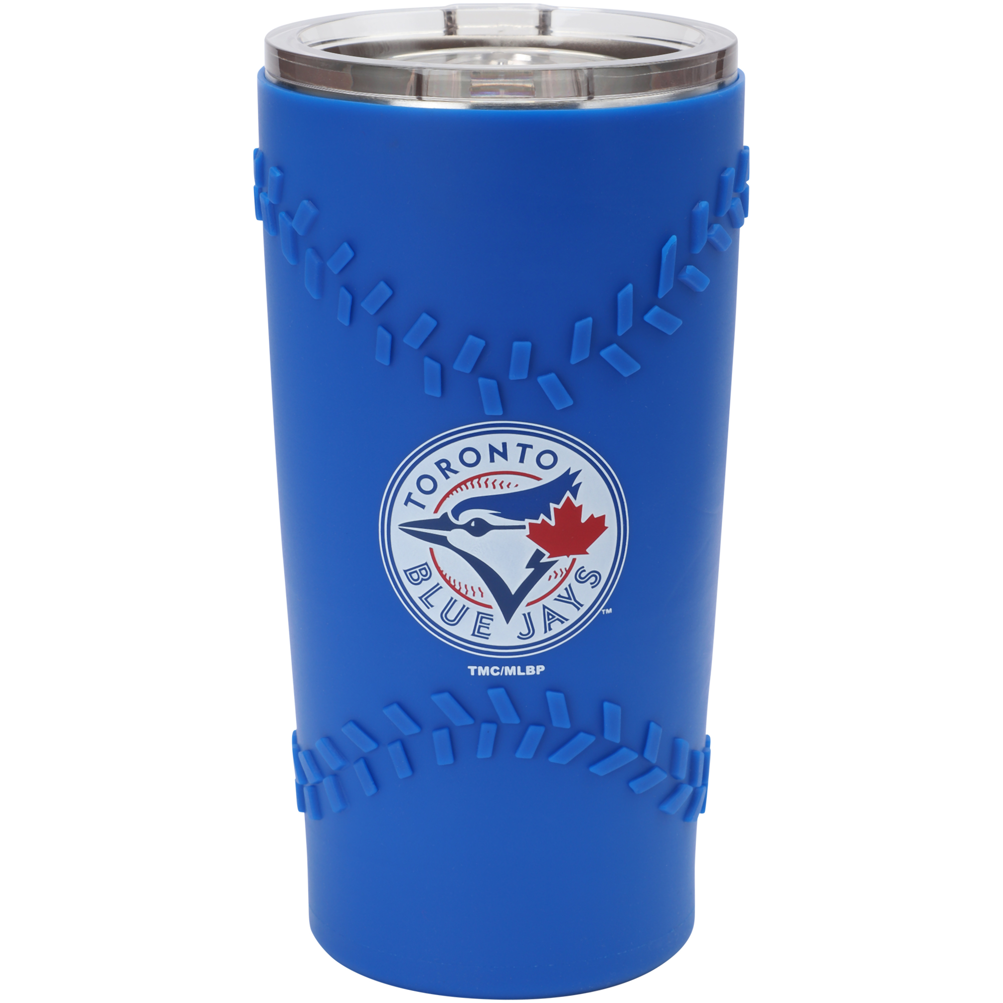 Toronto Blue Jays 20oz. Stainless Steel with 3D Silicone Tumbler - No Size