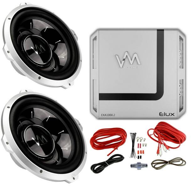 Single 4 Ohmsubwoofer Wiring: 2 VM Audio SRW10 10