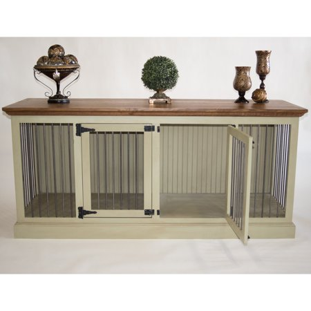 Eagle Furniture Medium Double Wide Dog Crate Credenza