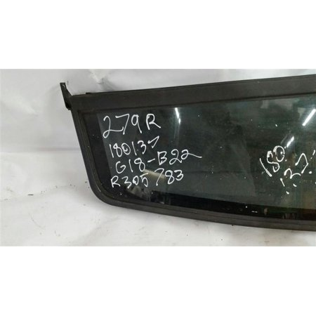 Pre Owned Original Part Rear Right Vent Glass Tinted Fits 99 00 01 02 03 04 Jeep Grand Cherokee R305783