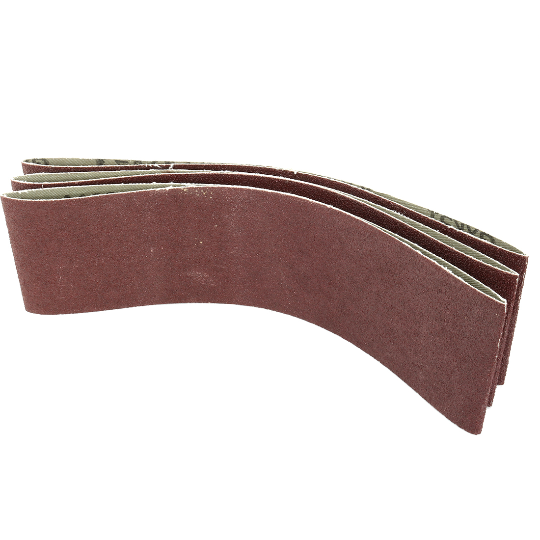 3-Inch x 21-Inch 100 Grit Lapped Butt Joint Aluminum Oxide Sanding Belt 3pcs - image 3 of 3