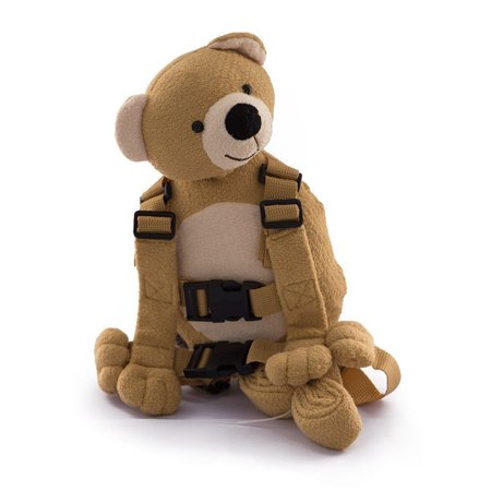 Berhapy 2 in 1 Teddy BEAR Toddler Safety Harness Children's Walking Leash Strap ()