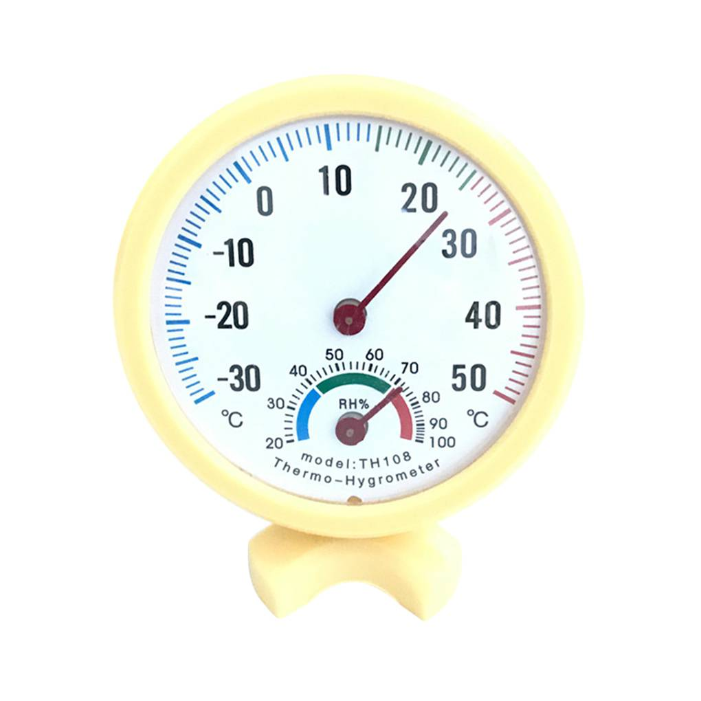 Multifunctional Indoor Hygrometer Thermometer Temperature Humidity Meter Home Office Baby Room
