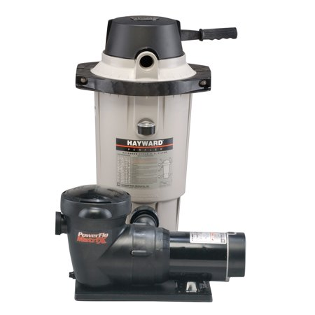 Hayward perflex ec40 above ground de pool filter tank with - Hayward pool equipment ...