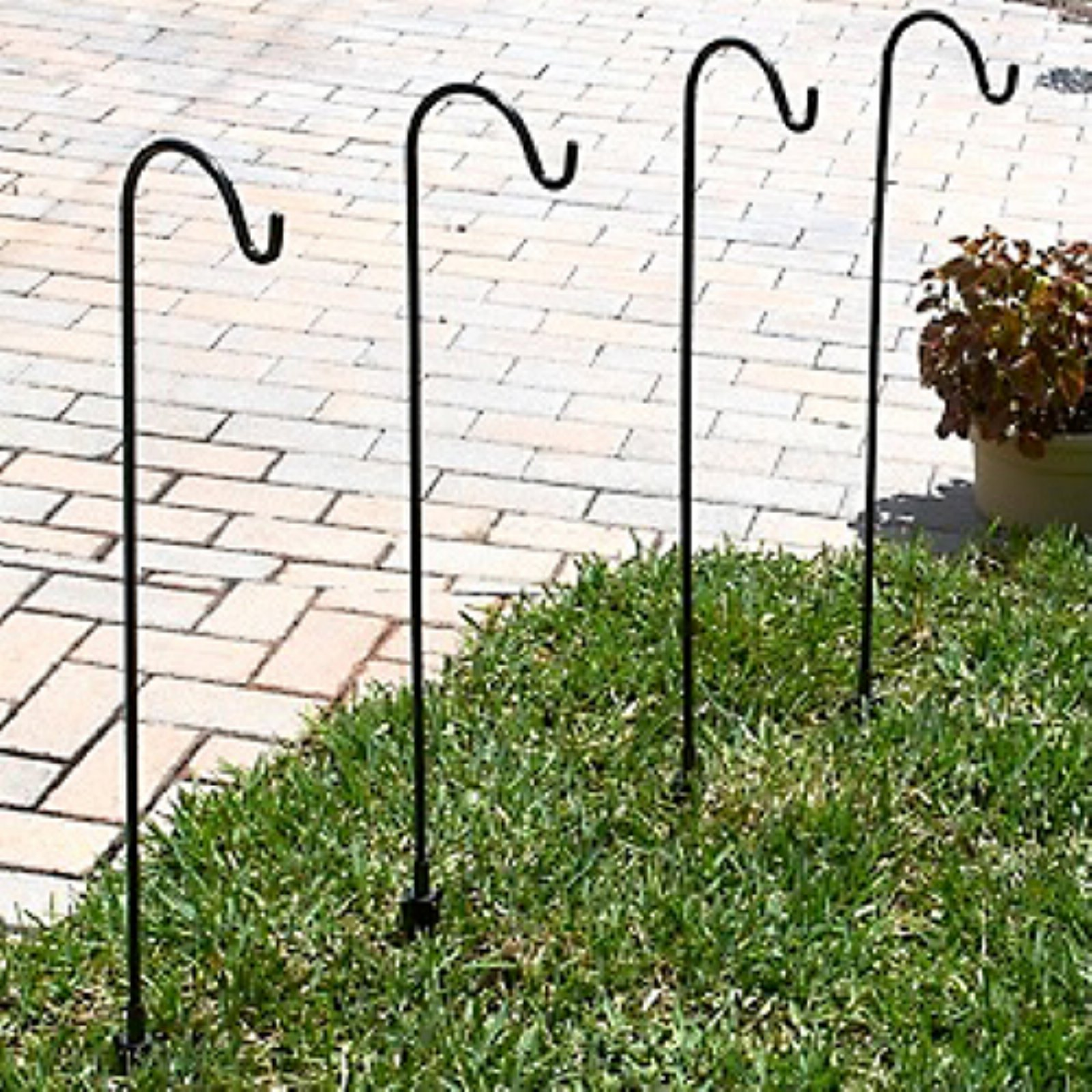 Shepard Hooks Multi Use Ground Stakes - Set of 4