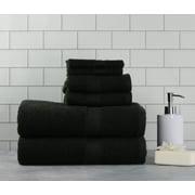 Mainstays Basic 6 Piece Bath Towel Set Collection
