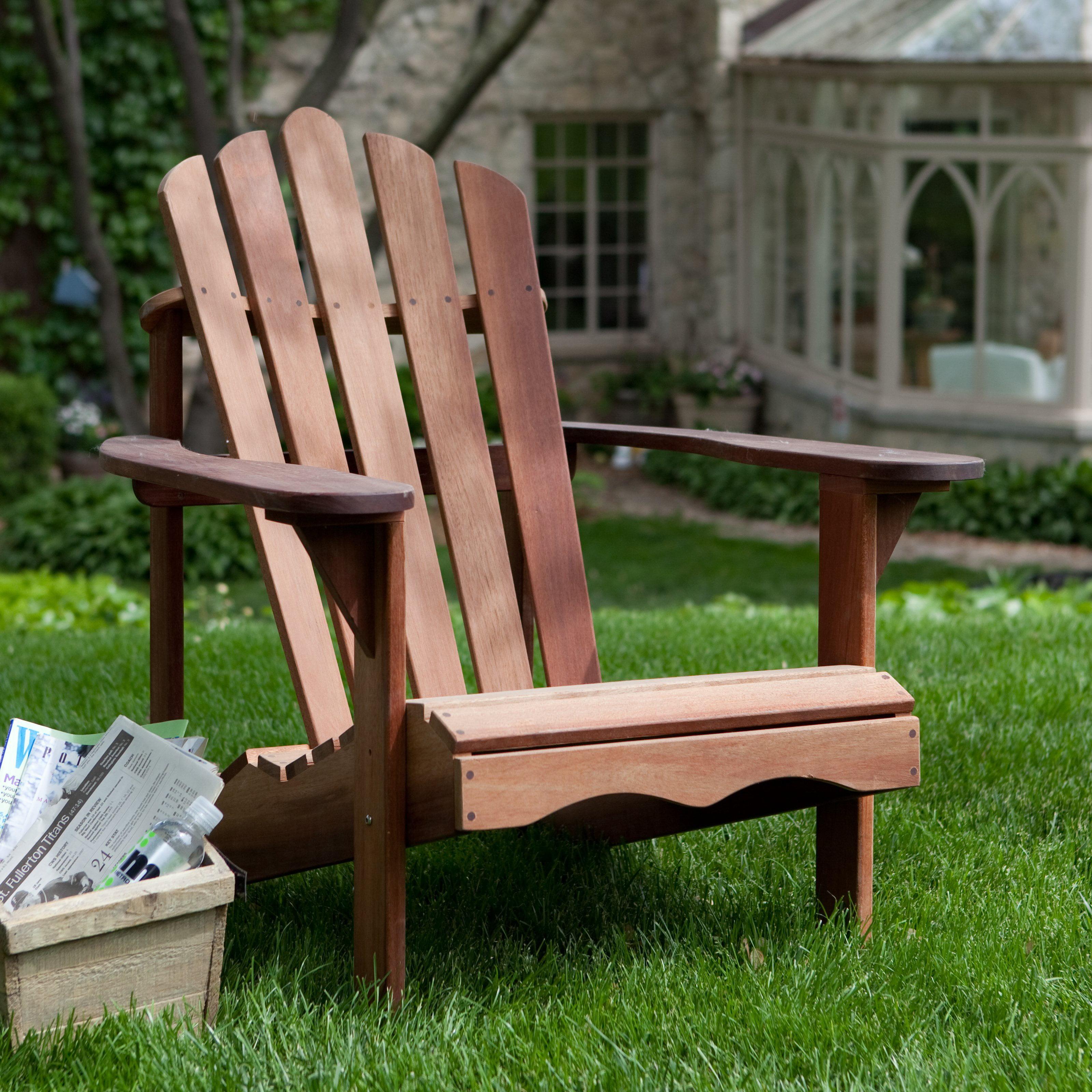 Belham Living Richmond Deluxe Shorea Wood Adirondack Chair by