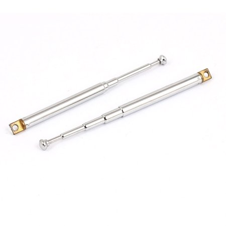 2pcs 15.5cm 5 Sections Telescopic Antenna Aerial Mast for RC Remote Controller