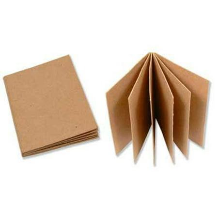 PA Paper Mache Book 3.75x5.25 Small Kraft - Paper Mache Pumpkins Halloween