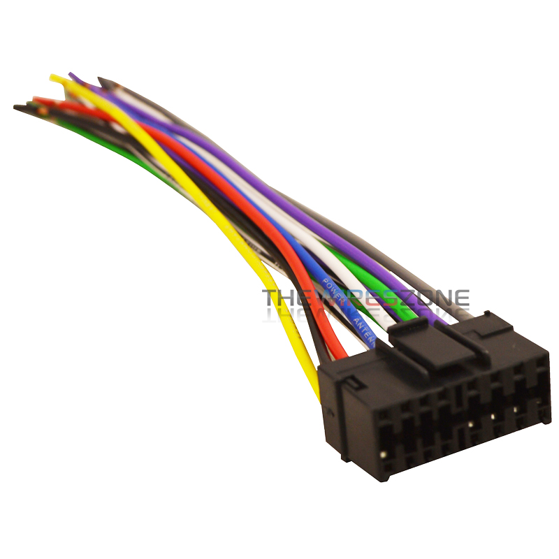 ford stereo wiring harness Nippon Whkenwood16p Pipeman 16 Pin Wiring Harness For 2000 Kenwood 16 pin car radio stereo replacement wiring harness for select jvc receivers 12v