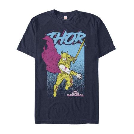 Marvel Men's Thor: Ragnarok Cape T-Shirt