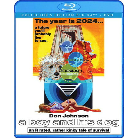 A Boy and His Dog (Collector's Edition) (Blu-ray) (The Boy And The Beast Collectors Edition)