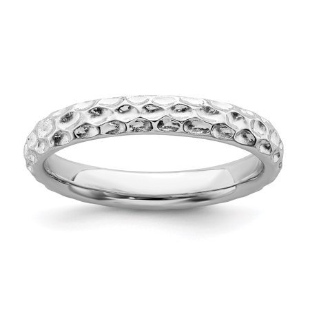 925 Sterling Silver Band Ring Size 8.00 Stackable Fancy/ Fine Jewelry Ideal Gifts For Women Gift Set From Heart