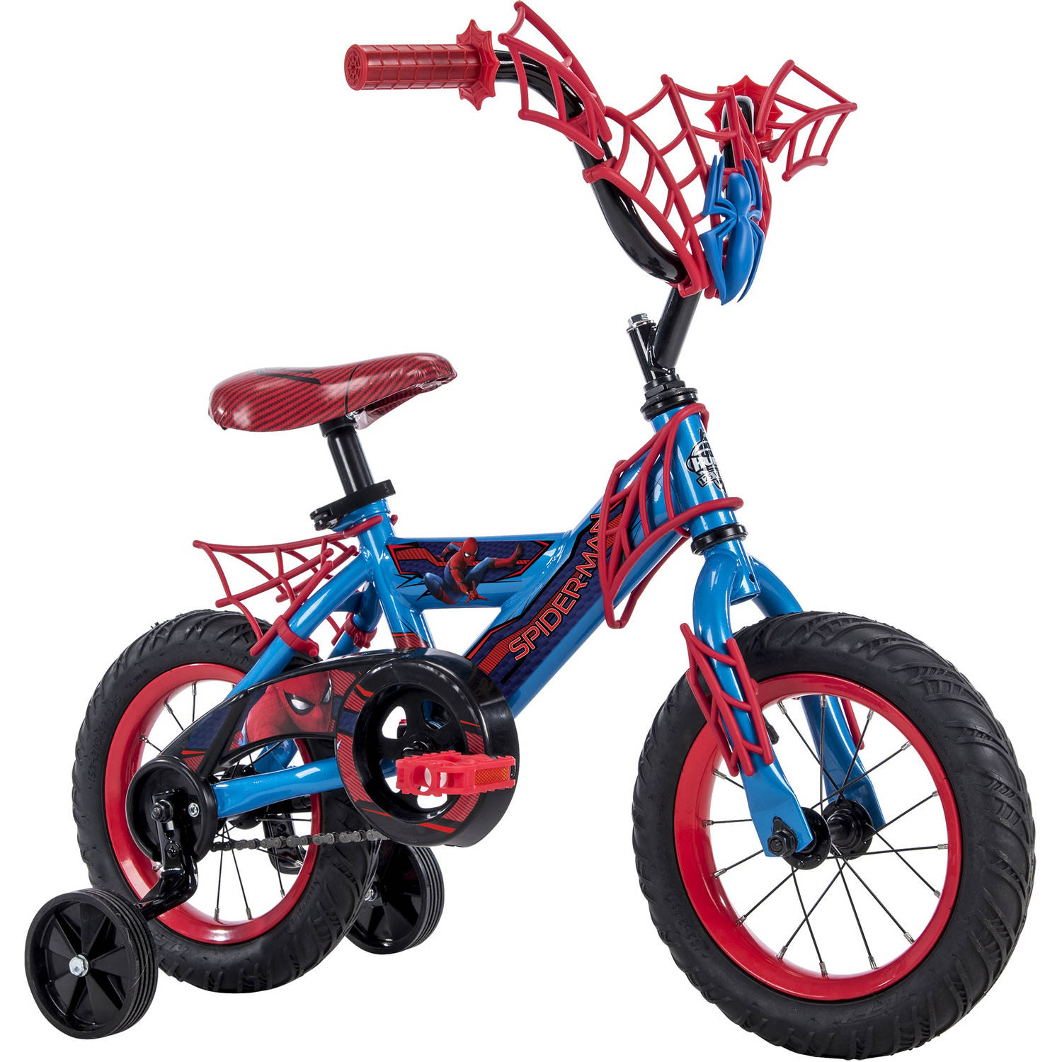 Marvel® Spider-Man Homecoming® 12″ Blue Boys' Bike, by Huffy