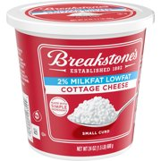 Breakstone's Small Curd 2% Milkfat Lowfat Cottage Cheese, 24 oz Tub