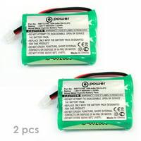 ((2 x pack)) T-Power 3.6v 900Mah Motorola Baby Monitors Battery TFL3X44AAA900 CB94-01A (Parent unit) Replacement Rechargeable Battery ((3.6V NIMH 900Mah))