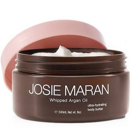 Josie Maran Whipped Argan Oil Ultra-Hydrating Body Butter, Vanilla Fig, 8